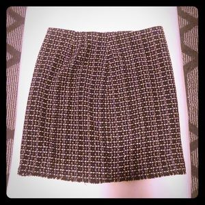 🌸 ANN TAYLOR DRESS SKIRT WITH RAW EDGE 🌸